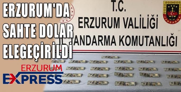 ERZURUM'DA SAHTE DOLAR ELEGEÇİRİLDİ