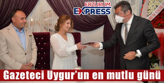 Gazeteci Uygur'un en mutlu günü