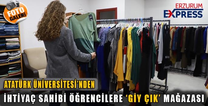 Giy-çık mağazası iyilik köprüsü olmaya devam ediyor
