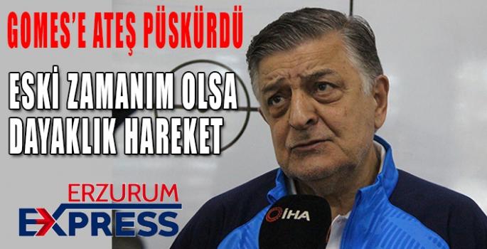 GOMES'E ATEŞ PÜSKÜRDÜ