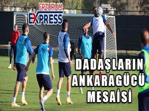 BB Erzurumspor Ankaragücü maç hazırlıklarını sürdürüyor