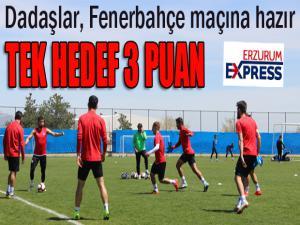 BB Erzurumspor, Fenerbahçe galibiyetine odaklandı