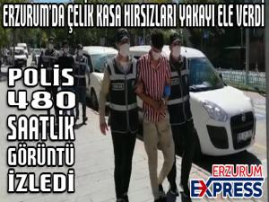 Çelik kasa hırsızları polisin takibi sonucu yakalandı