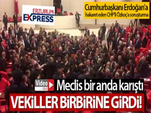 Cumhurbaşkanı Erdoğan'a hakaret eden CHP'li Özkoç'a soruşturma