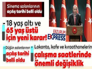 Cumhurbaşkanı Erdoğan alınan önemli kararları açıkladı...