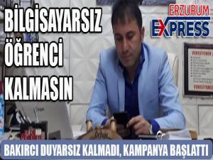 ERZURUM'DA BİLGİSAYARSIZ ÇOCUK KALMASIN!