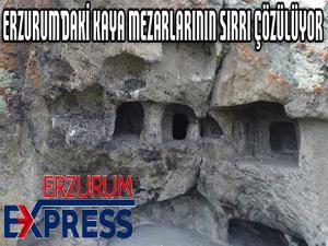 Erzurum'daki kaya mezarlıklarının sırrı çözülüyor, yer altı şehri çıkabilir