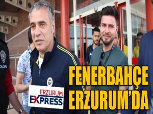 Fenerbahçe, Erzurum'da
