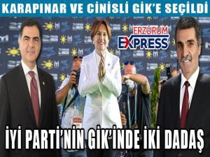 İYİ Parti Genel İdare Kurulu belli oldu! Erzurum'dan iki isim listeye girdi.