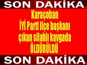 İYİ Parti ilçe başkanı öldürüldü