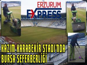 Kazım Karabekir Stadı'nda Bursa seferberliği