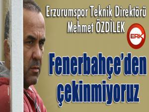 """Mehmet Özdilek: """"Ersun Yanal'ın Fenerbahçe maçında takımın başında olması bizi etkilemez"""""""
