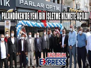 PALANDÖKEN'E YENİ BİR İŞLETME