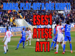Spor Toto 1. Lig'de BB Erzurumspor sahasında Eskişehirspor'u 2-1 mağlup etti.