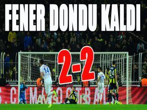 Spor Toto Süper Lig: Fenerbahçe: 2 - BB Erzurumspor: 2