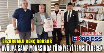 AVRUPA ŞAMPİYONASINDA TÜRKİYE'Yİ TEMSİL EDECEK