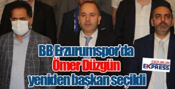 BB Erzurumspor'da Ömer Düzgün yeniden başkan seçildi