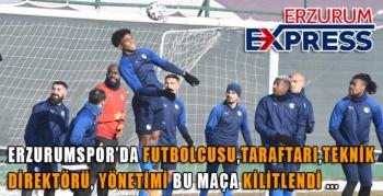 BBErzurumspor, Gaziantep maç hazırlıklarını tamamladı