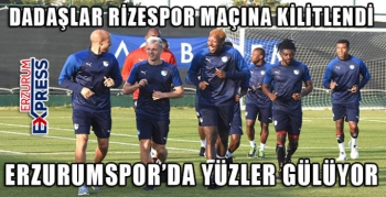 BBErzurumspor Rizespor maçı hazırlıklarını sürdürüyor