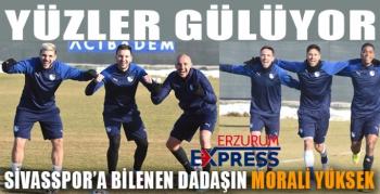 BBErzurumspor, Sivasspor maçı hazırlıklarını sürdürdü