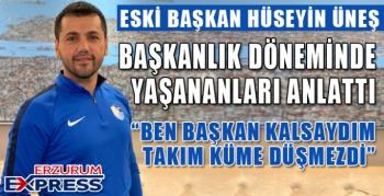 BEN KALSAYDIM ERZURUMSPOR DÜŞMEZDİ...