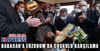 DEVA PARTİSİ GENEL BAŞKANI ALİ BABACAN ERZURUM'DA