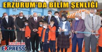 ERZURUM'DA BİLİM ŞENLİĞİ