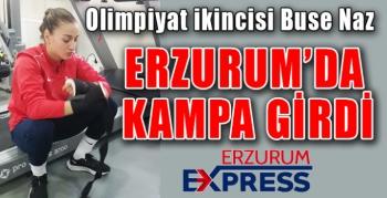 ERZURUM'DA KAMPA GİRDİ.
