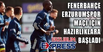 Fenerbahçe'de BBErzurumspor maçı hazırlıkları başladı