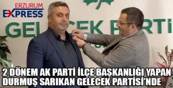 GELECEK PARTİSİ TEKMAN'DA İDDİALI