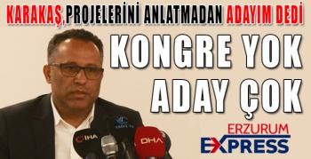 Kürşat Karakaş BBErzurumspor Başkanlığı'na adaylığını açıkladı