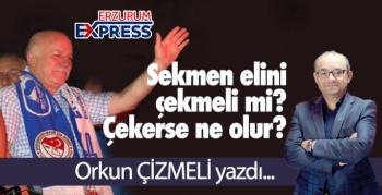 Mehmet Sekmen, Erzurumspor'dan elini çekmeli mi?