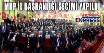 MHP İL KONGRESİ GERÇEKLEŞTİRİLDİ