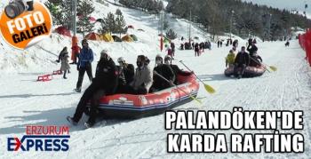 PALANDÖKEN'DE KARDA RAFTİNG