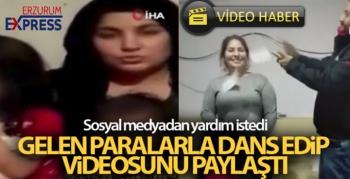 Sosyal medyadan yardım istedi, gelen paralarla dans edip videosunu paylaştı