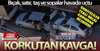 SURİYE'LİLER YERLİ HALKI CANINDAN BEZDİRDİ...