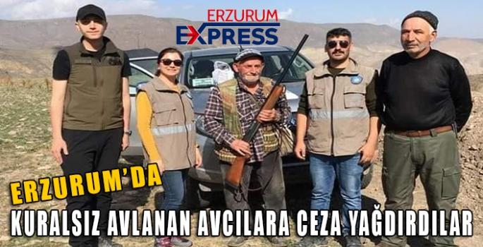 Kaçak avlanan avcılara ceza kesiliyor