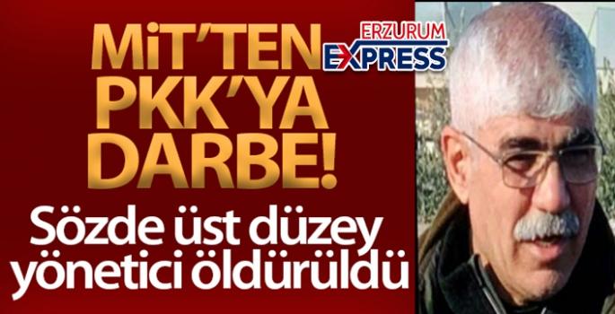MİT'ten PKK'ya darbe! Sözde üst düzey yönetici öldürüldü