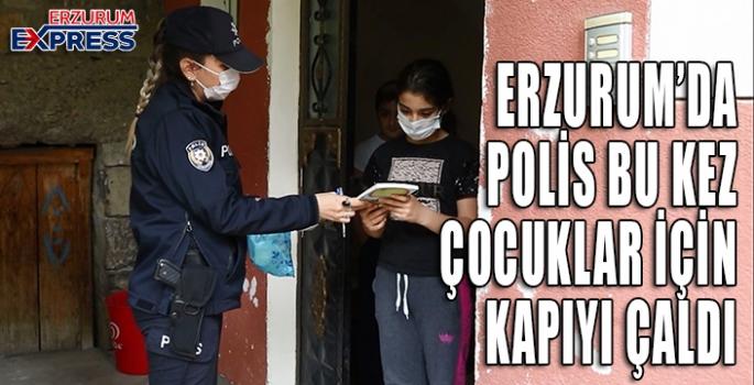 Polisler çocuklar için köy köy dolaşıp, çalmadık kapı bırakmadılar