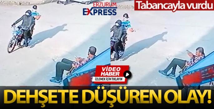 Silahlı saldırı kamerada