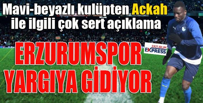 Erzurumspor'dan Ackah kararı... Sözleşmesi fesh edilecek