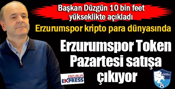Erzurumspor kripto para dünyasında